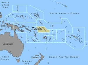 the pacific island nation of tuvalu has only a few days of water