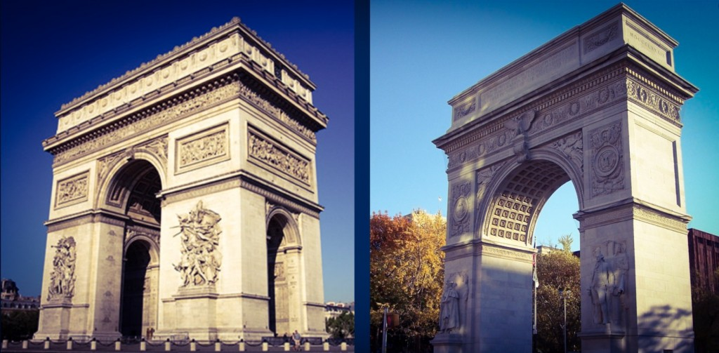 a tale of two arches